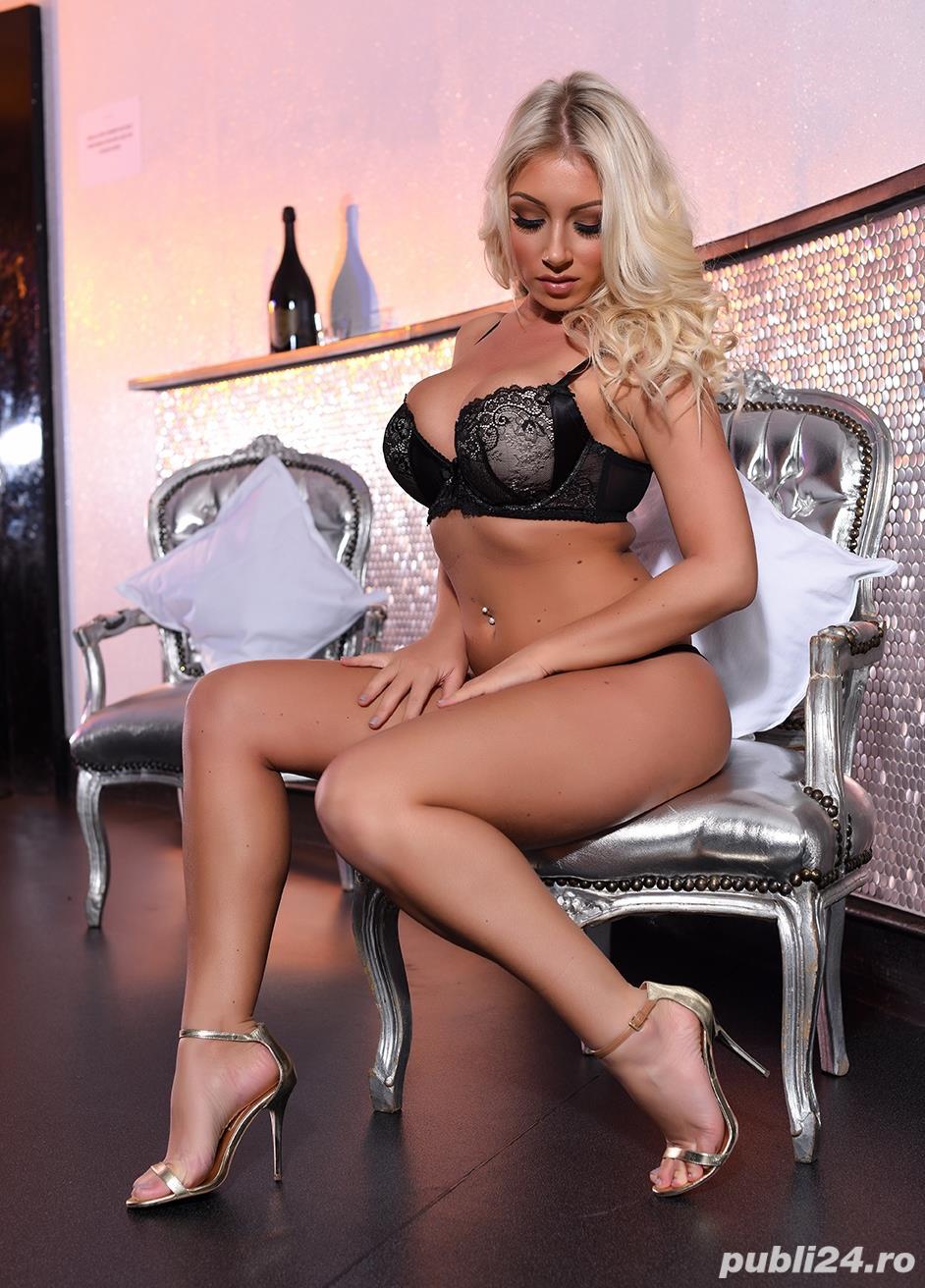 beautifull blonde girl with big natural breast